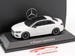 Mercedes-Benz A-Class berlina (V177) polare bianco 1:43 Herpa