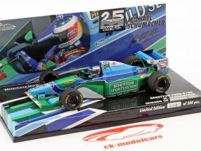 M. Schumacher Benetton B194 campione del mondo Monaco GP formula 1 1994 1:43 Minichamps