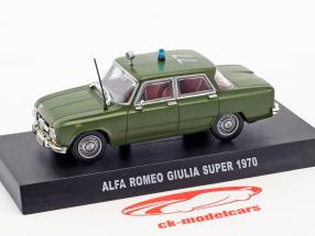 Alfa Romeo Giulia Super année de construction 1970 olive vert 1:43 Altaya