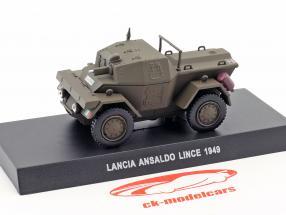 Lancia Ansaldo Lince année de construction 1949 olive vert 1:43 Altaya