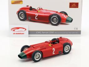 Peter Collins Ferrari D50 Long Nose #2 Deutschland GP Formel 1 1956 1:18 CMC