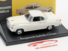 Borgward Isabella coupé blanc 1:43 Atlas