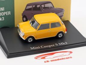 Mini Cooper S Mk3 yellow 1:43 Atlas
