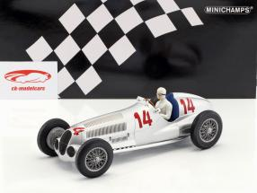 Manfred von Brauchitsch Mercedes-Benz W125 #14 2nd Germany GP formula 1 1937 1:18 Minichamps