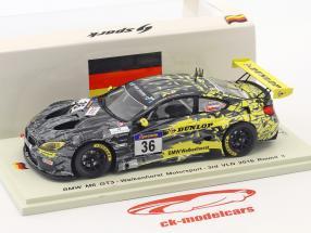 BMW M6 GT3 #36 3 VLN 2016 ronde 3 Krognes, Bouveng, Blomqvist 1:43 Spark