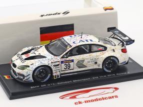 BMW M6 GT3 #39 2 ° VLN 2016 tondo 3 Luhr, Tomczyk, Edwards 1:43 Spark