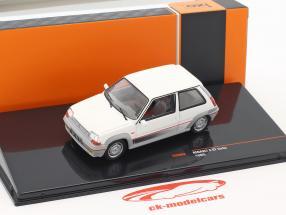Renault 5 GT Turbo anno di costruzione 1985 bianco 1:43 Ixo