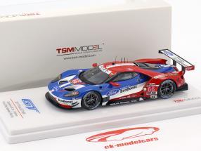 Ford GT #66 ganador clase GTLM 24h Daytona 2017 Müller, Hand, Bourdais 1:43 TrueScale