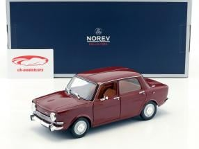 Simca 1000 LS anno di costruzione 1974 amarante rosso 1:18 Norev