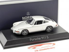 Porsche 911 S 2.4 anno di costruzione 1973  argento 1:43 Norev