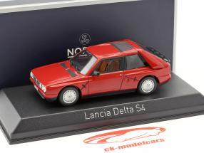 Lancia Delta S4 anno di costruzione 1985 rosso 1:43 Norev