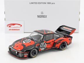 Porsche 935 #40 tercero 24h LeMans 1977 Ballot-Lena, Gregg 1:18 Norev