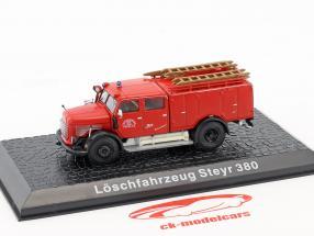 Steyr 380 vigili del fuoco Bregenz rosso 1:72 Atlas