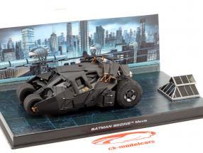 Batmobile aus dem Film Batman Begins 2005 schwarz 1:43 Ixo Altaya