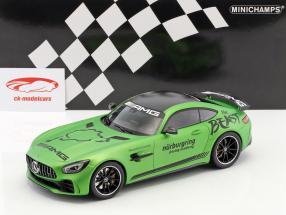 Mercedes-Benz AMG GT-R Driving Academy 2017 verde metálico 1:18 Minichamps
