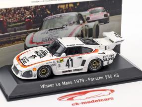 Porsche 935 K3 #41 Gagnant 24 LeMans 1979 Kremer Racing 1:43 Spark