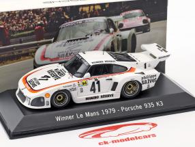 Porsche 935 K3 #41 Vinder 24 LeMans 1979 Kremer Racing 1:43 Spark