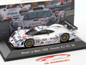 Porsche 911 GT1 #26 Vinder 24h LeMans 1998 McNish, Aiello Ortelli 1:43 Spark