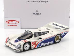 Porsche 962 IMSA #68 ganador Riverside 1985 Halsmer, Morton 1:18 Norev