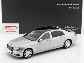 Mercedes-Benz Maybach S-Class año de construcción 2016 iridium plata 1:18 Almost Real