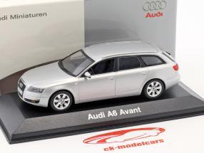 Audi A6 Avant 2004 argent 1:43 Minichamps