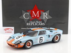 Ford GT40 Mk I #6 vencedor 24h LeMans 1969 Ickx, Oliver 1:12 CMR