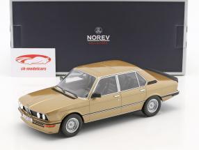 BMW M535i E12 Baujahr 1980 gold metallic 1:18 Norev