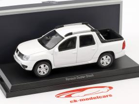 Renault Duster Oroch year 2015 white 1:43 Norev