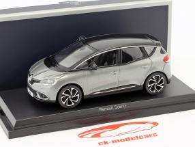 Renault Scenic Baujahr 2016 cassiopee grau / schwarz 1:43 Norev