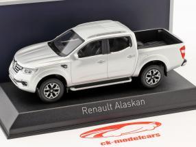 Renault Alaskan Pick-Up Bouwjaar 2017 zilver 1:43 Norev