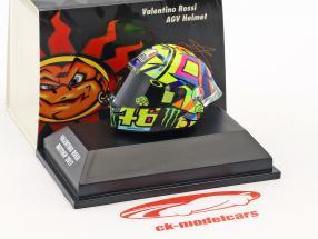 Valentino Rossi MotoGP 2017 AGV casque 1:8 Minichamps