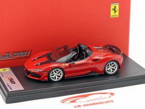 Ferrari J50 Roadster Opførselsår 2016 Rosso Tristrato 1:43 LookSmart