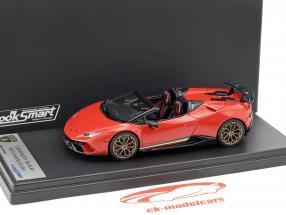 Lamborghini Huracan Performante Spyder LP 640-4 año de construcción 2017 Marte rojo 1:43 LookSmart