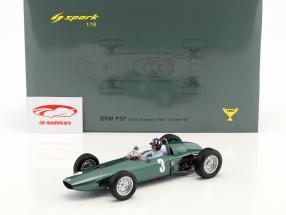 Graham Hill BRM P57 #3 champion du monde Afrique du Sud GP formule 1 1962 1:18 Spark