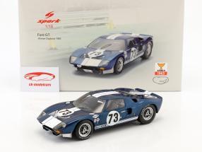 Ford GT40 #73 Winner Daytona 2000km 1965 Miles, Ruby 1:18 Spark