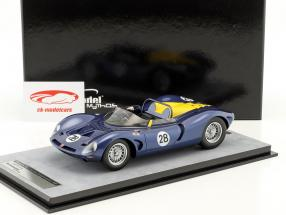 Bizzarrini P538 Spyder #28 Can-Am Bridgehampton 1966 Mike Gammino 1:18 Tecnomodel