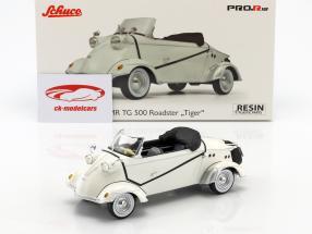FMR TG 500 roadster Tiger blanc 1:18 Schuco