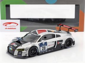 Audi R8 LMS Ultra #28 winnaar 24h Nürburgring 2015 Audi Sport Team WRT 1:18 Paragon Models