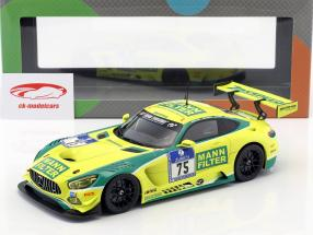 Mercedes-Benz AMG GT3 #75 6 24h Nürburgring 2016 MANN-FILTER Team Zakspeed 1:18 Paragon Models