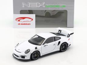 Porsche 911 (991) GT3 RS año de construcción 2016 blanco 1:24 Welly