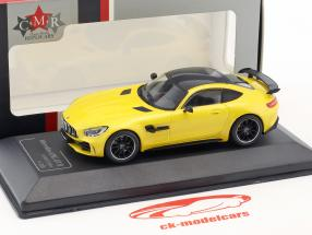 Mercedes-Benz AMG GT-R solarbeam gul 1:43 CMR