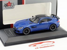 Mercedes-Benz AMG GT-R brilliant blauw 1:43 CMR