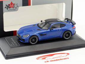 Mercedes-Benz AMG GT-R brilliant bleu 1:43 CMR