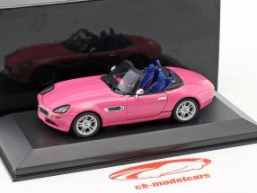BMW Z8 roze 1:43 Minichamps / vals oververpakking