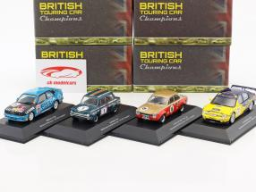 4-Car Set BTCC Champions Will Hoy, Frank Gardner, Alain Menu, Bill McGovern 1:43 Atlas