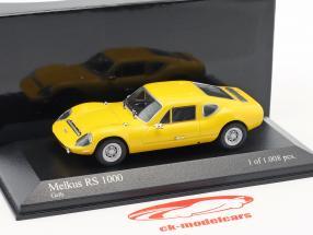 Melkus RS1000 année de construction 1969–1973 jaune 1:43 Minichamps / faux suremballage