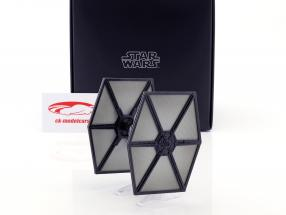 TIE Fighter Starship Star Wars VII - The Force Awakens (2015) noir HotWheels Elite