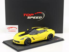 Chevrolet Corvette Grand Sport Baujahr 2017 Corvette racing gelb 1:18 TrueScale