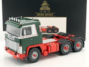 Scania LBT 141 trekker Bouwjaar 1976 groen / rood / wit 1:18 Road Kings