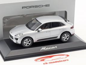 Porsche Macan Opførselsår 2013 rhodium sølv 1:43 Minichamps